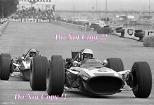Ludovico Scarfiotti Cooper T86B Monaco Grand Prix 1968 Photograph 2