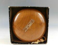 Vintage Wood Duncan Executive Yoyo Return Top w Box Large Size