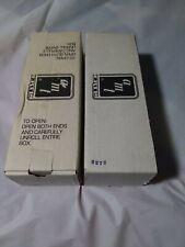 2 AMT/ERTL 1992 FORD F-150 XLT PICKUP TRUCKS: BIMINI BLUE, Bright Red MIB J*