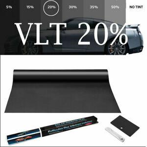 VLT20% IR80% Heat Resistant Nano Ceramic Glass Tint Car Window Film 50cmX300cm