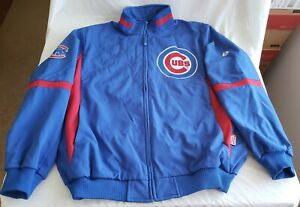 "Brand new vintage Majestic brand, Therma Base ""CHICAGO CUBS"" jacket in size 2XL"