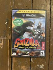 Godzilla: Destroy All Monsters Melee Nintendo GameCube Game Complete With Manual