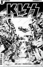 KISS #1 BAAL B&W 1:10 INCENTIVE VARIANT COVER
