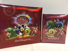 *2* NEW Walt Disney World 2007 Photo Albums *Mickey Minnie Mouse Goofy 16306C