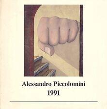 PICCOLOMINI Alessandro, Alessandro Piccolomini 1991