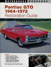 PONTIAC GTO RESTORATION GUIDE BOOK MANUAL ZAZARINE ROBERTS HOW TO RESTORE LEMANS