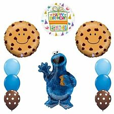 NEW! Sesame Street Cookie Monsters Birthday party supplies
