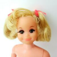 Vintage Barbie LIVING FLUFF #1143 Nude Doll Hair in Original Condition EXCELLENT