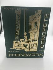 Formwork for Concrete by M. K. Hurd, 1979, Fourth Edition