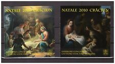 S26956) Vatican 2010 MNH Christmas Booklet X 2 Joint Issue With Romania