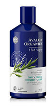4 X 414ml Avalon Organics Biotin B Complex Therapy Thickening Conditioner BULK