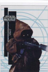 2015 Topps Star Wars High Tek Base 1-56 Pattern 3 #35 Jawa