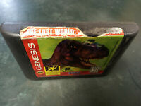Sega Genesis Game Only The Lost World Jurassic Park tested working