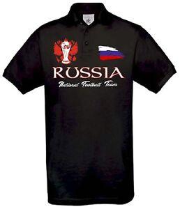RUSSLAND POLO TRIKOT WORLDCUP FUSSBALL RUSSIA EM 2021 Europameisterschaft S-5XL