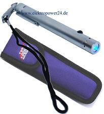 Zweibrüder LED LENSER V12 7632 Taschenlampe inkl. Nylontasche blau licht