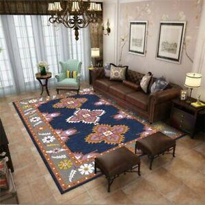 Nordic Light Luxury Rug Living Room Carpet Bedroom Carpet Printed Pattern Carpet