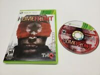 Homefront (Microsoft Xbox 360, 2011) Video Game Disc w/ Case TESTED
