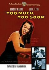 Too Much Too Soon 0883316236154 With Dorothy Malone DVD Region 1
