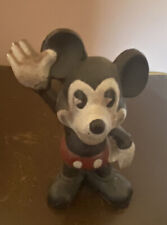 Vintage Mickey Mouse Bank Coin Cast Iron Disney