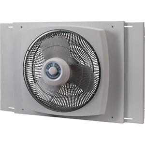 Lasko 16  Electrically Reversible Window Fan 3-Speeds