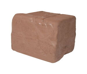 AMACO Low Fire Moist Terra Cotta Stoneware Clay, 50 lb, Red No. 77