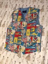 Waistcoat Size S.burton.vintage Style.american.