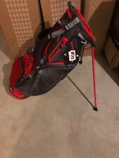 Sun Mountain 4 Plus Stand Bag -Red/Gray New 2019 4 Way Light Weight