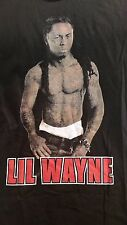 2011 Lil Wayne YMCMB Tour graphic t-shirt men sz L unisex black hip-hop rap