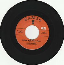 HALLOWEEN NOVELTY 45 RPM - JOHN ZACHERLE ON CAMERO RECORDS - SOUND CLIPS AVAIL
