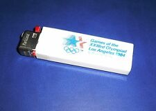 1984 Olympic Games Los Angeles OLYMPIC GAMES Souvenir LIGHTER with Olympic Rings