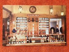 1965 Postcard: Disneyland - Upjohn Pharmacy Exhibit