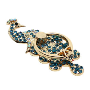 Peacock Mobile Phone Stand Holder Metal For All Phone Finger Ring for smatphone