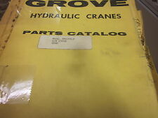 Grove Model TMS375LP Hydraulic Cranes Parts Catalog Manual