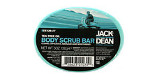 Jack Dean Tea Tree Body Scrub Bar Mens Grooming Official Stockist