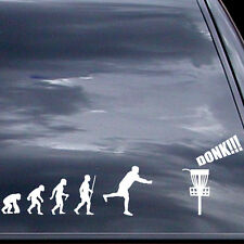 Disc Golf Vinyl Sticker - Evolution Of Donk - Car Vinyl Sticker