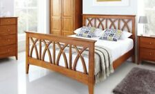 Double Crowther Top Quality Buckingham Oak Bed LOCAL DELIVERY Asembly Option