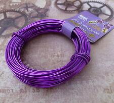 Craft Wire 18gauge (1.02mm) Beadsmith Aluminium Wire Purple