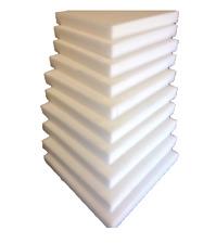 10 Plaques de mousse polyuréthane 40cm X 40cm  tapissier ameublement 3cm