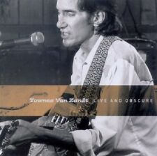 TOWNES VAN ZANDT - LIVE AND OBSCURE  CD NEW!