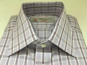 TURNBULL & ASSER Shirt,  UK:15.5, EU:39,  RRP: £215!   NEW WITH TAGS