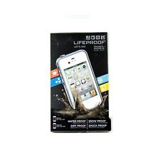 LIFEPROOF CASE FOR IPHONE 4 4S FRE WATER DUST SHOCK PROOF GENUINE WHITE 1001-02