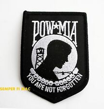 VIETNAM POW MIA HAT PATCH PIN UP US AIR FORCE NAVY ARMY MARINES VETERAN GIFT WOW