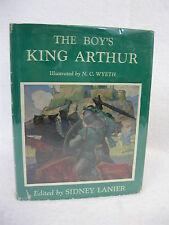Sir Thomas Malory  THE BOY'S KING ARTHUR Charles Scribner's   c.1952 HC/DJ