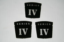 Sunbeam Alpine Series IV Fender & Trunk Badges NEW Reproduction Set of 3