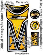 YAMAHA YZF R125 2008 - 2016 jaune réservoir de moto protecteur gel pad Motografix