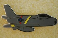 US USA F-86 Sabre Fighter Jet Aircraft Military Hat Lapel Pin