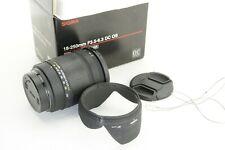 für Sony A-mount,  Sigma 18-250mm 1: 3.5-6.3 DC  HSM, GUT