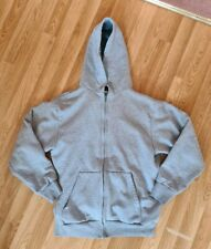 Camber Thermal Zip Up Hoodie Made In USA MEDIUM supreme waffle Arctic Quality