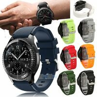 US 22mm Rugged Silicon Sport Bracelet For Huawei Watch GT Smart Watch Band Strap