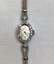 Lady Elgin Diamond Gold Wrist Watch (w24)